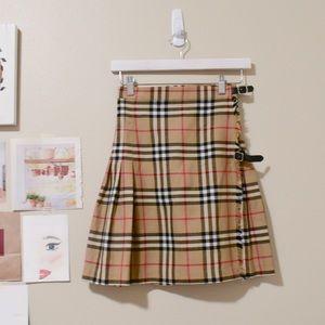 Vintage BURBERRY Classic Nova Print Skirt 🤍SALE🤍